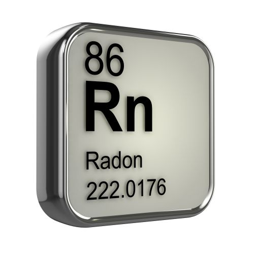 Radon symbol from periodic table