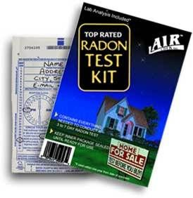 Information about testing for radon in your home