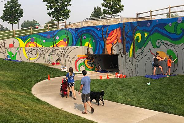 Maple Hill Community Mural