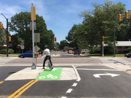 Magnolia Bikeway: Shields and Magnolia Bicycle and Pedestrian Signal Project