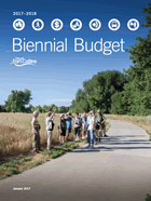 2017-2018 Adopted Biennial Budget Cover
