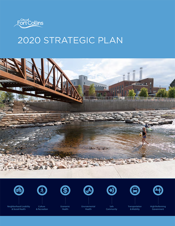 2020 Strategic Plan cover image