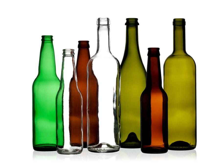 Spotlight image: Glass Now Going Bottle to Bottle in Curbside Recycling!