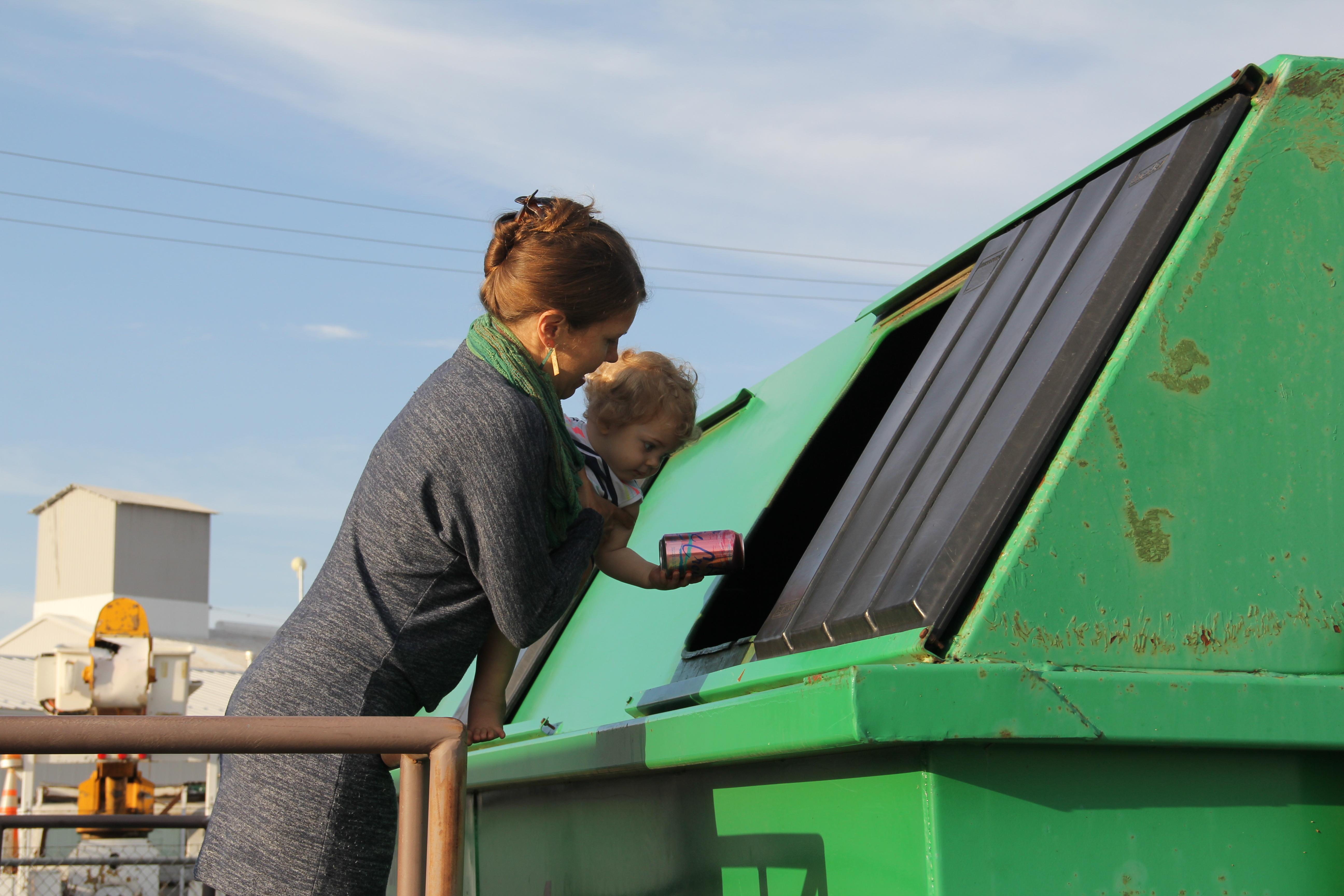 Spotlight image: Timberline Recycling Center Open!