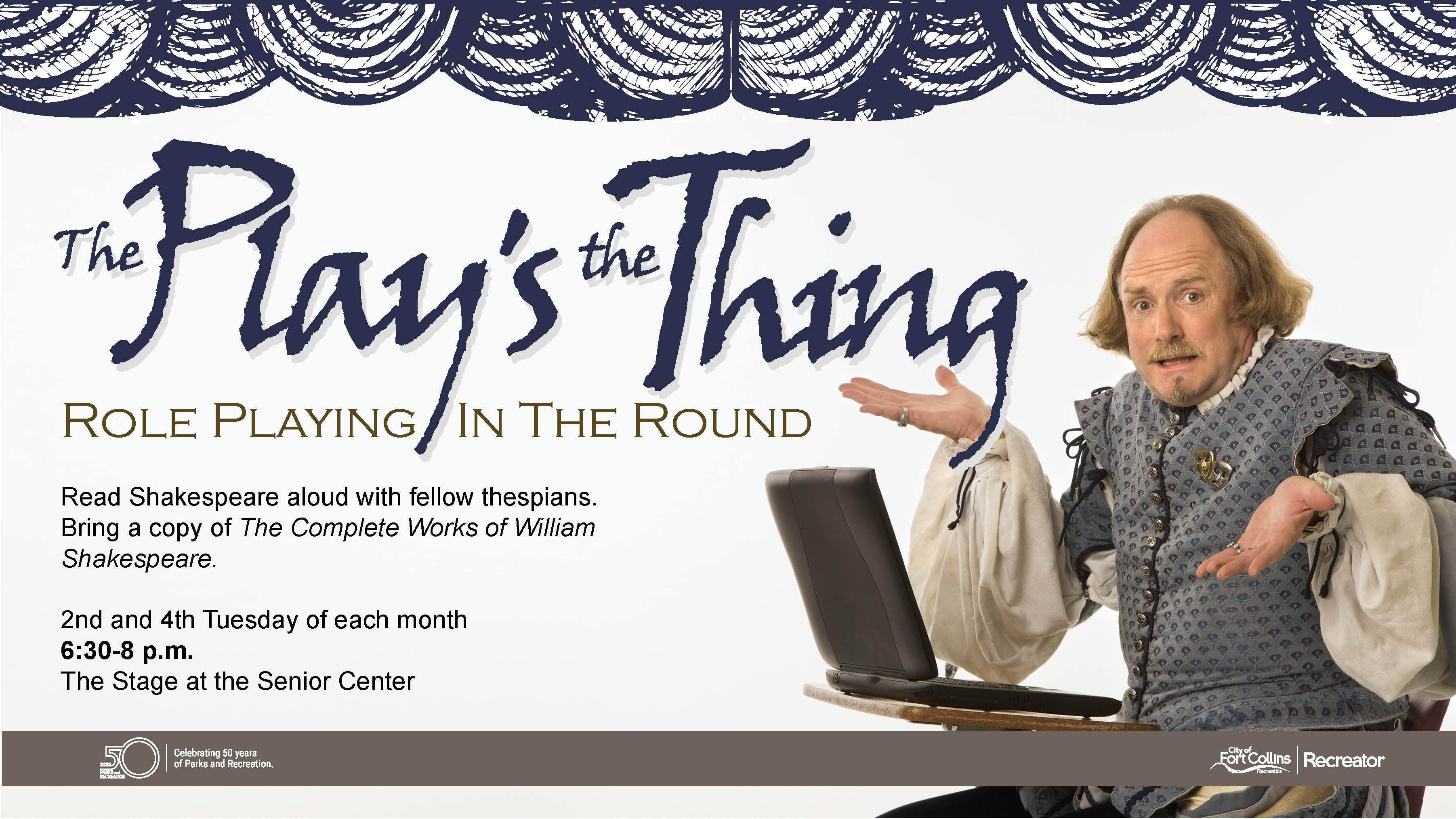 Spotlight image: The Play's the Thing