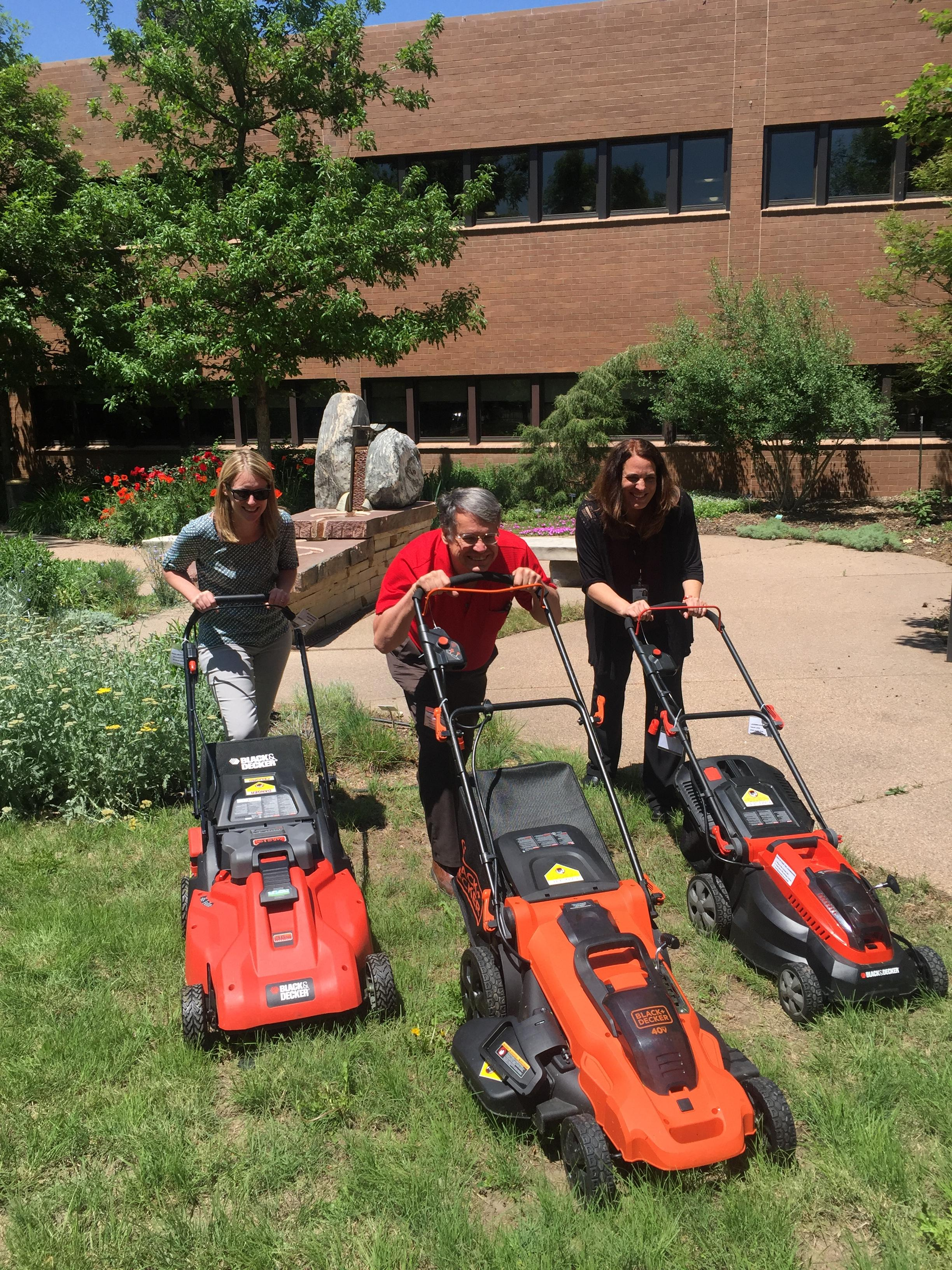 Spotlight image: Electric Lawn Mower Winners Announced