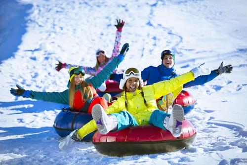 Spotlight image: Snow Tubing Trips - Youth Programming
