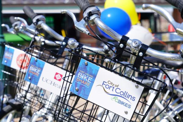 Spotlight image: Fort Collins Bike Share
