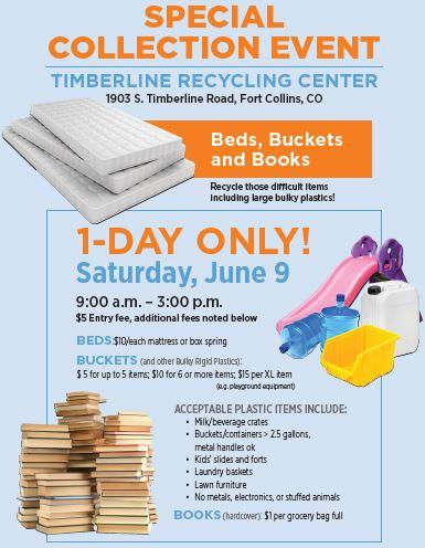 Spotlight image: Special Collection Event at the Timberline Recycling Center