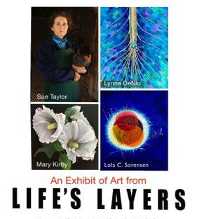 An Exhibit of Art from Life's Layers