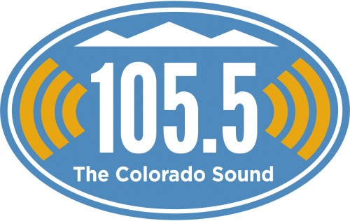 105.5 Colorado Sound Logo