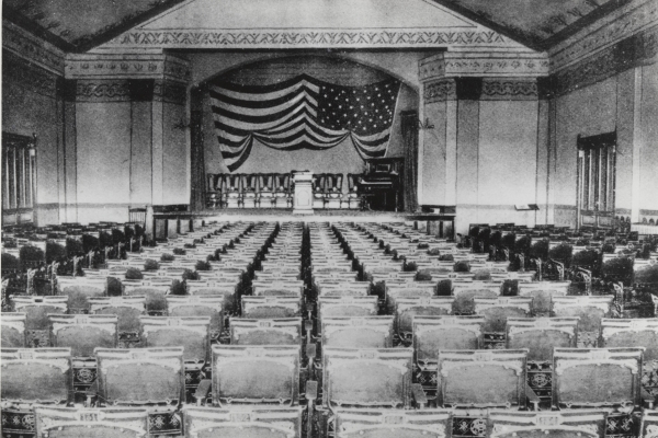 Getting the Vote: Women's Suffrage in America
