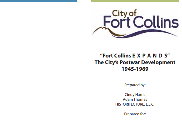 Fort Collins E-X-P-A-N-D-S - Post Development 1945-1969