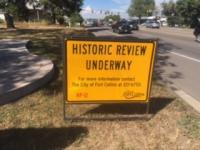 Historic Review Underway