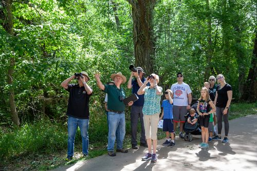 Master Naturalist leads river tour