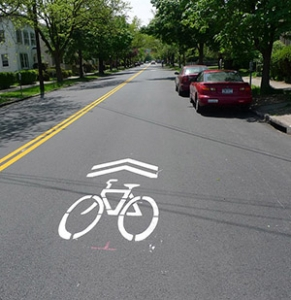 image for press release Mountain Avenue to Undergo Bicycle Improvements in Downtown