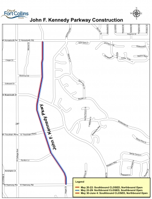 image for press release John F. Kennedy Parkway Construction