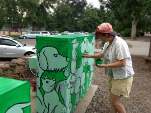 image for press release Artists Transforming Electrical Boxes