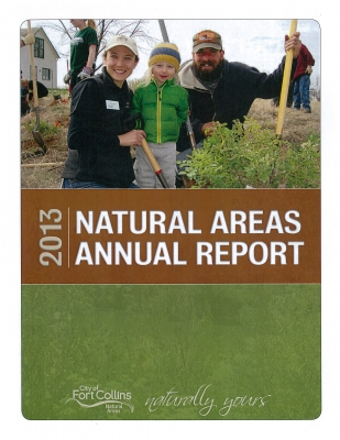 image for press release Natural Areas Department Releases Annual Report for 2013