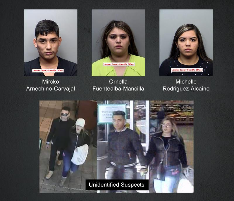 Eight suspects arrested in two related crime sprees || City of Fort