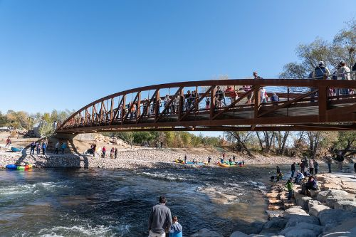 rendering of Poudre River Whitewater Park