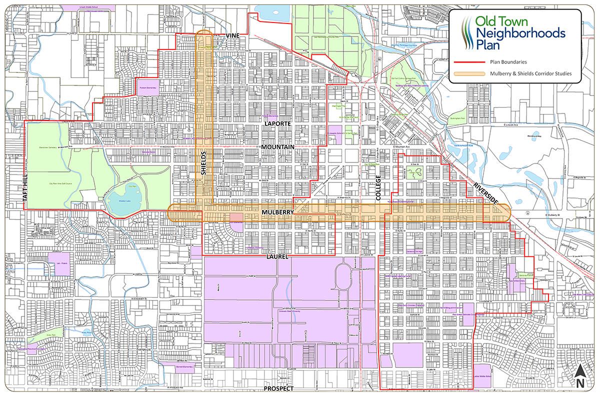 Old Town Neighborhoods Plan City of Fort Collins