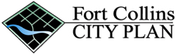 old Fort Collins City Plan logo