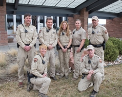 Natural areas rangers group photo