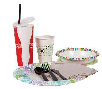 Single-Use Serving ware
