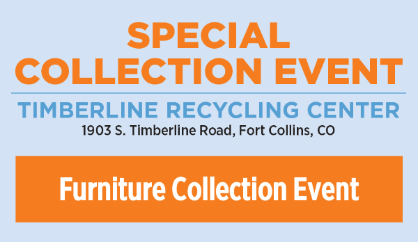 Timberline Recycling Center Furniture Collection Event