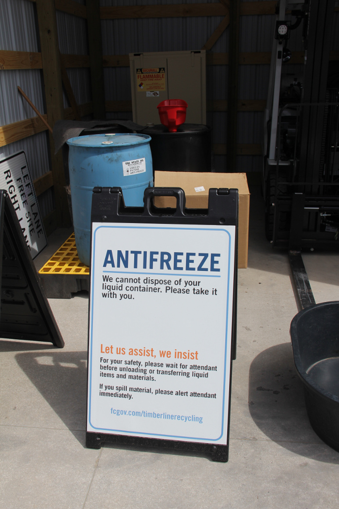 How To Dispose Of Batteries >> Timberline Recycling Center || City of Fort Collins