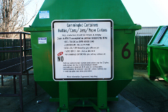 Commingled Containers Bin