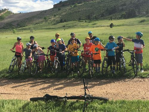 The Riffenburgh Rock Riders are an after-school bike club at Riffenburgh Elementary.