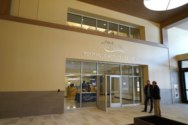 exterior of facility inside foothills mall
