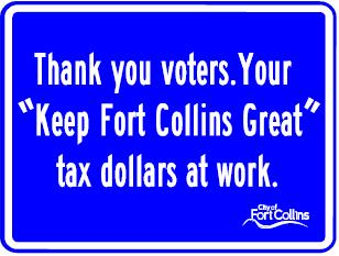 "City of Fort Collins Image ""Keep Fort Collins Great"""