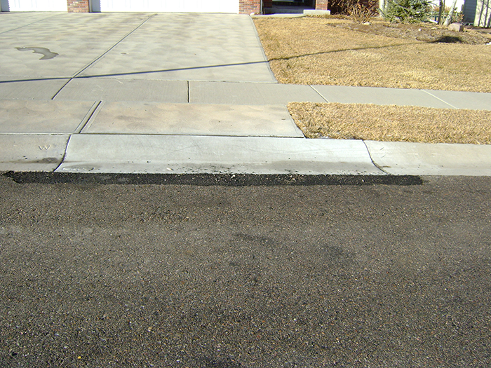 Sidewalk Curb Amp Gutter City Of Fort Collins