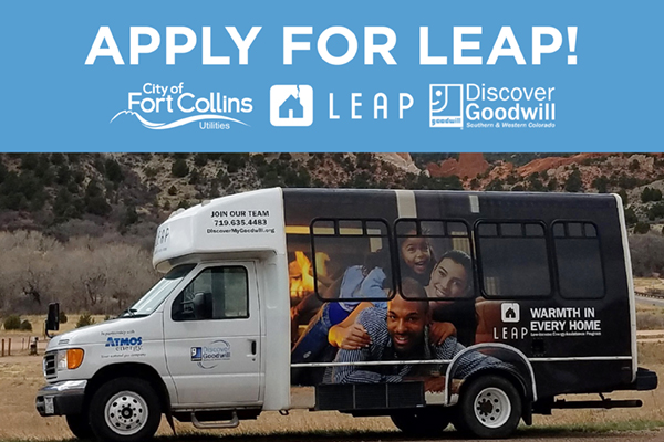 The LEAP van is coming to Fort Collins Nov. 16
