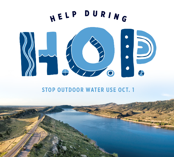 Help During HOP - stop outdoor water use Oct. 1