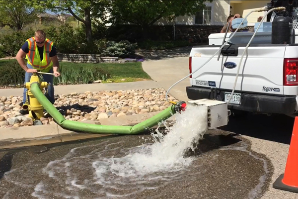 Water Distribution System Flushing || City of Fort Collins