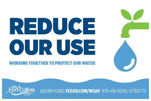 Reduce Your Use: Workign Together to Protect Our Water