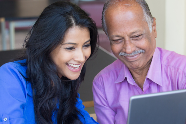 VirtuVisit has been created with the goal of connecting isolated older adults to their family, friends and the volunteers who wish to serve them